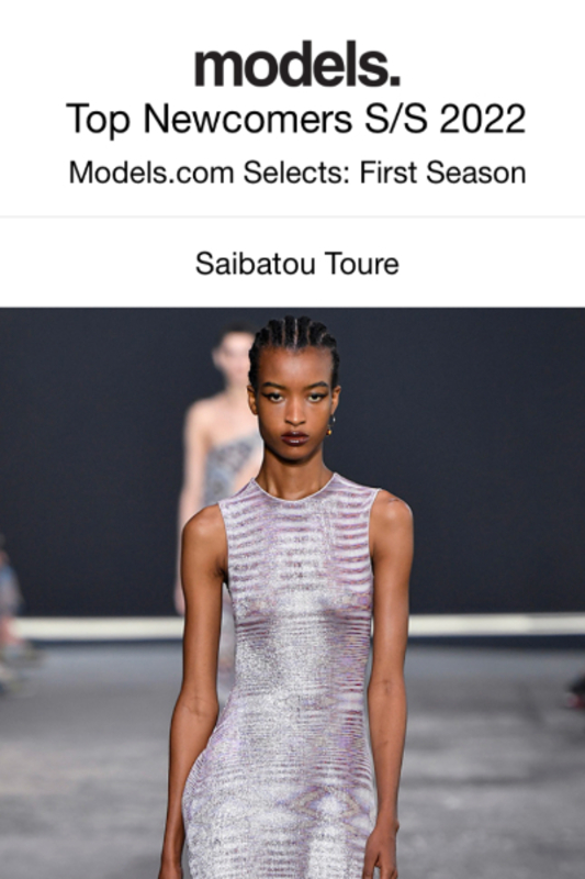 saibatou-kate-top-new-comers-models-com-ss22-cover